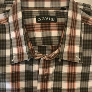 🌟ORVIS-men's button down shirt-XXL - perfect !